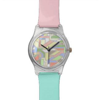 Modelo geométrico 3 reloj
