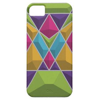modelo geométrico 3D Funda Para iPhone SE/5/5s