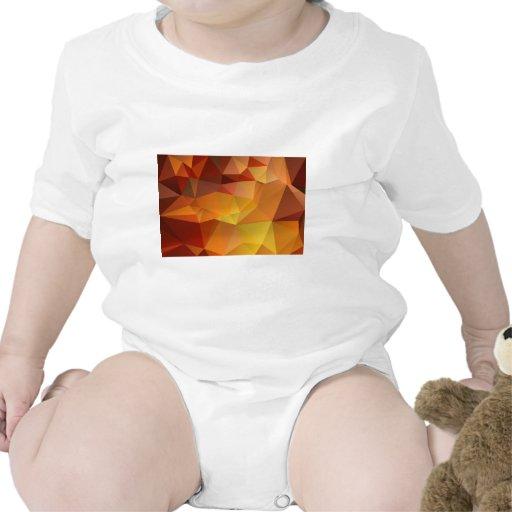 modelo geométrico abstracto, diseño del triángulo traje de bebé