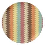 Modelo geométrico abstracto - placa platos