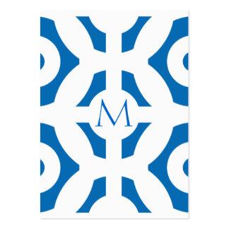 Modelo geométrico azul del deslumbramiento