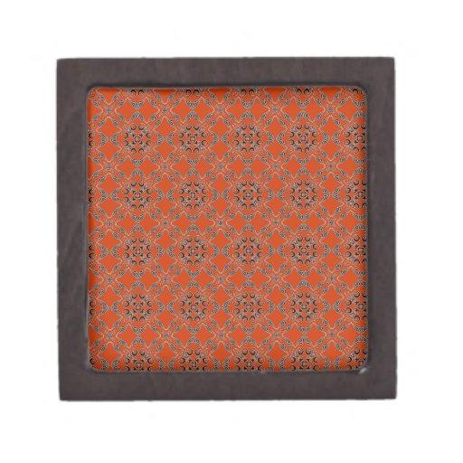 Modelo geométrico caja de recuerdo de calidad