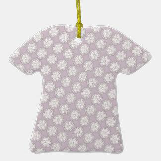 Modelo geométrico color de rosa polvoriento del es ornamento para reyes magos