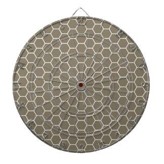 Modelo geométrico coloreado piedra neutral del pan