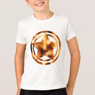 Modelo geométrico cubista de las llamas playeras