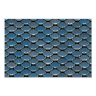 Modelo geométrico de la armadura azul fotografía