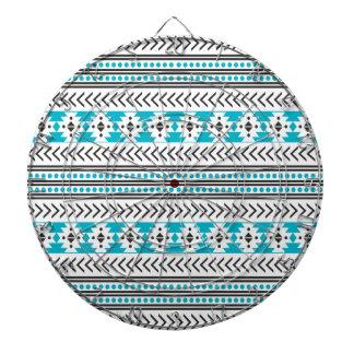 Modelo geométrico de la impresión tribal azteca de