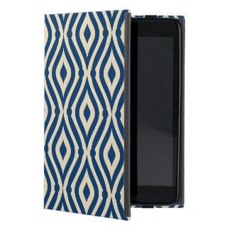 Modelo geométrico de la lágrima de los azules iPad mini cobertura