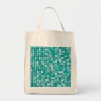 modelo geométrico de la teja del trullo del bolsa tela para la compra