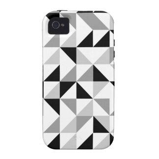 Modelo geométrico de los triángulos iPhone 4 carcasa