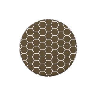 Modelo geométrico de moda del hexágono del panal d jarrones de caramelos