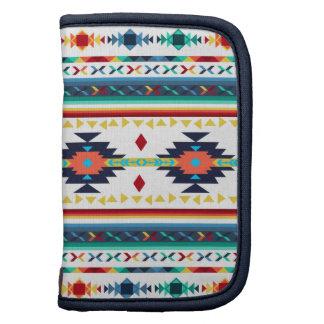 modelo geométrico de Navajo étnico tribal de moda Planificador