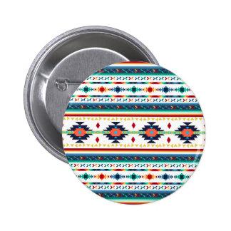 modelo geométrico de Navajo étnico tribal de moda Pins