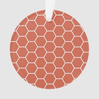 Modelo geométrico del hexágono coralino del panal