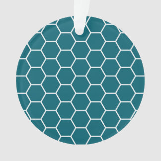 Modelo geométrico del hexágono de la turquesa de m