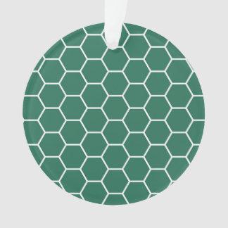Modelo geométrico del hexágono del panal de Forest