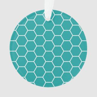 Modelo geométrico del hexágono del panal del trull