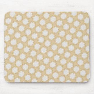 Modelo geométrico del vintage retro - personalice mouse pad