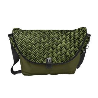 Modelo geométrico diagonal de la armadura de cesta bolsas de mensajeria