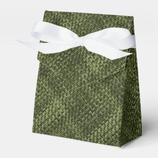 Modelo geométrico diagonal de la armadura de cesta caja para regalos de fiestas