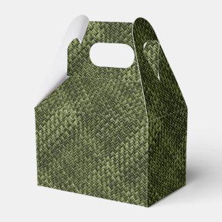 Modelo geométrico diagonal de la armadura de cesta cajas para regalos