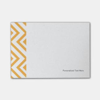 Modelo geométrico formado rombo post-it® nota