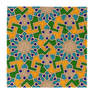 Modelo geométrico islámico posavasos