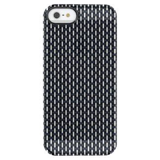 """Modelo geométrico mínimo - Japón """"noche"""" W del Funda Clearly™ Deflector Para iPhone 5 De Uncommon"""