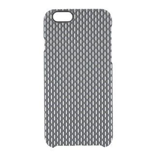 """Modelo geométrico mínimo - Japón """"noche"""" W del Funda Clearly™ Deflector Para iPhone 6 De Uncommon"""