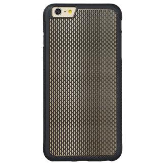 """Modelo geométrico mínimo - Japón """"noche"""" W del Funda De Arce Bumper Carved® Para iPhone 6 Plus"""
