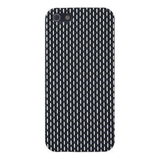"""Modelo geométrico mínimo - Japón """"noche"""" W del iPhone 5 Funda"""