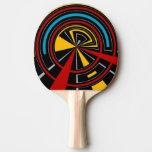 Modelo geométrico pala de ping pong