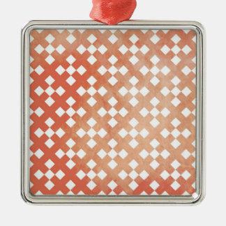 Modelo geométrico rosado coralino ornamento de reyes magos