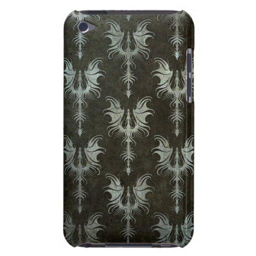 Modelo gótico de acero industrial de los dragones iPod touch Case-Mate fundas