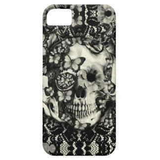 Modelo gótico del cráneo del cordón del Victorian iPhone 5 Cobertura