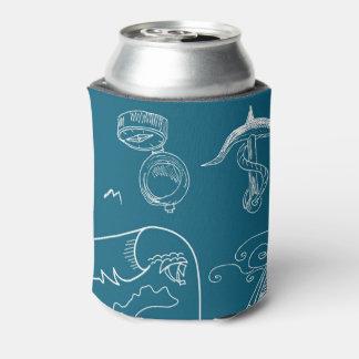 Modelo gráfico náutico del modelo enfriador de latas