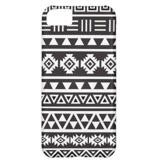 Modelo (grande) azteca del estilo - monocromo