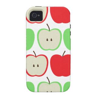 Modelo grande de las manzanas iPhone 4 carcasa