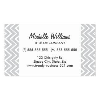 Modelo gris caprichoso elegante y de moda del galó tarjeta de negocio