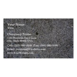 Modelo gris concreto de la pared tarjetas de visita