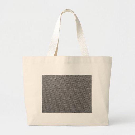 Modelo gris de la tela bolsa lienzo