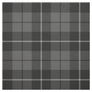 Modelo gris de la tela escocesa del negro del telas