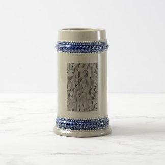 Modelo gris de la textura jarra de cerveza