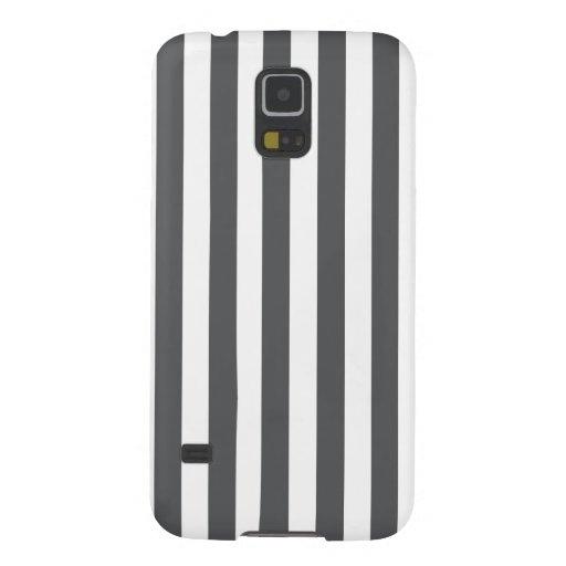 Modelo gris de las rayas de la MOD Carcasas De Galaxy S5