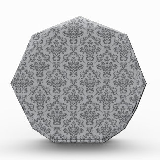 Modelo gris del damasco