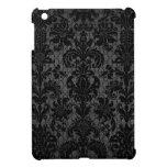 modelo gris del damasco del falso negro del cordón iPad mini coberturas