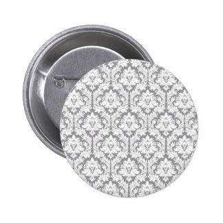 Modelo gris del damasco del guijarro pin