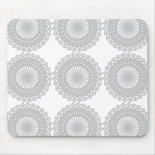 Modelo gris del diseño del cordón tapete de raton