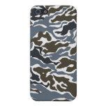 Modelo gris del ejército iPhone 5 funda