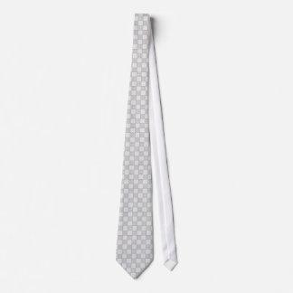 Modelo gris del remiendo corbata